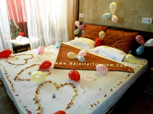 Honeymoon Bed Decoration